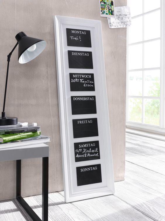 Ideal Memo Board Daily Bilder Rahmen Wanddeko Wohnen