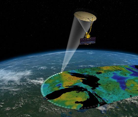 Satelite SMAP - Fornecido por Gizmodo
