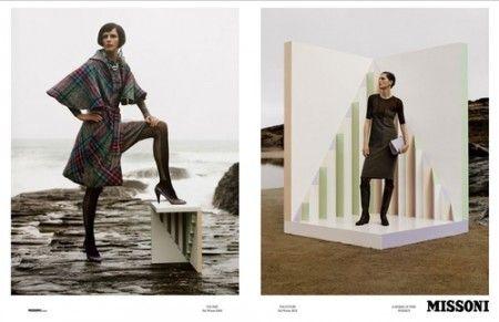 Missoni Fall/Winter 2013 Ad Campaign