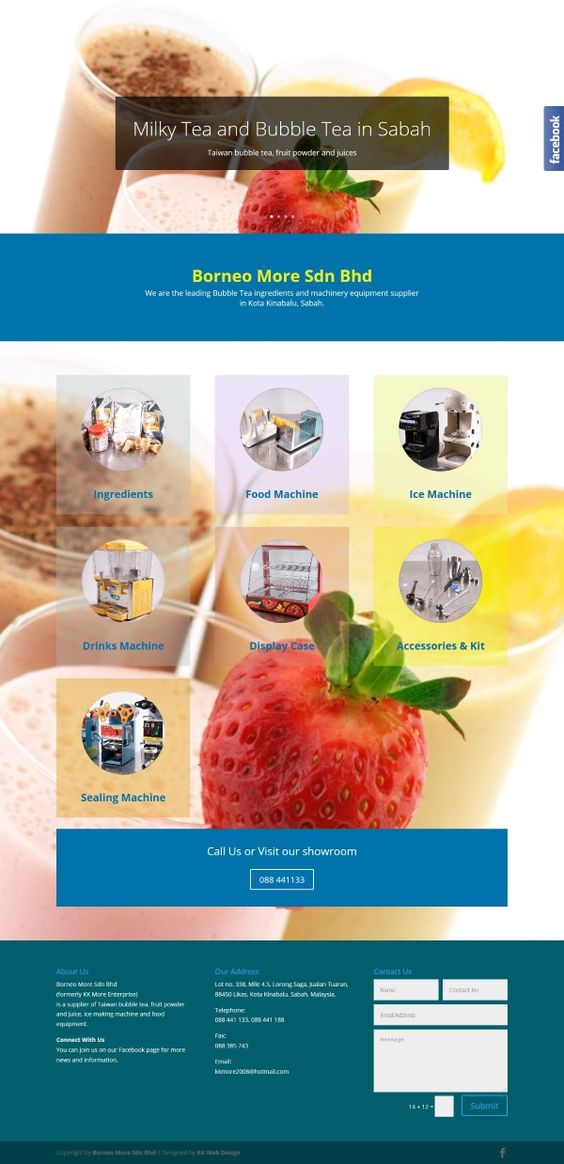 Bubble Tea Ingredients And Machinery Equipment Supplier In Kota Kinabalu Sabah Bubble Tea Drinks Machine Bubbles
