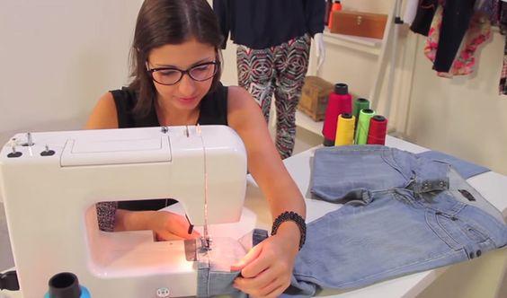 Consertos e ajustes de roupas
