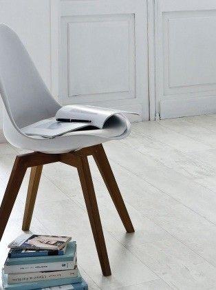 Sol vinyle imitation parquet us blanc texline 4m cuba white saint maclou - Sol vinyle saint maclou ...