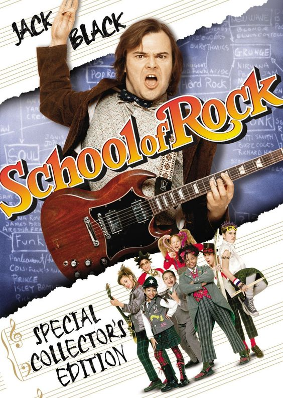 Amazon.com: School of Rock (Widescreen Edition): Jack ...