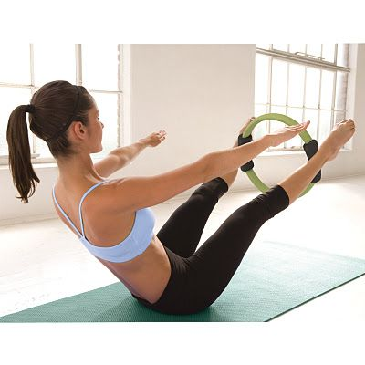 pilates hundred with the magic circle