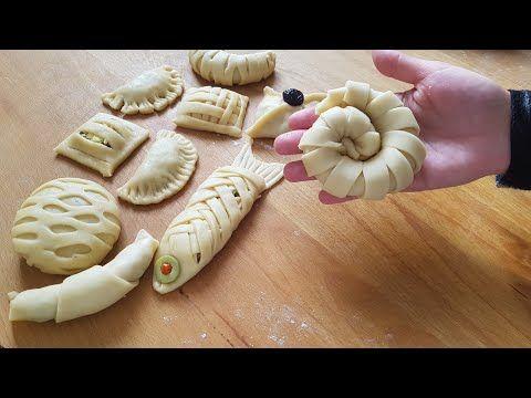 طريقة تشكيل اكثر من 15 شكل من المعجنات غاية في الجمالnew Beautiful Pastry Ideas رمضان فطائر جديد Youtube Dessert Appetizers Honey Almonds Arabic Food