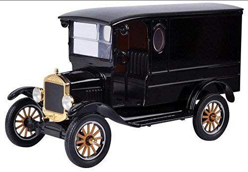 Motormax 1925 Ford Model T Paddy Wagon Black 79316ptm 1 24