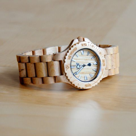 These all wood watches had me thinking of my metal-allergic in laws.
