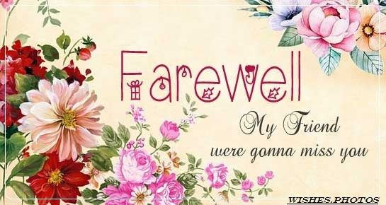 Farewell Wishes Messages And Best Farewell Quotes With Images