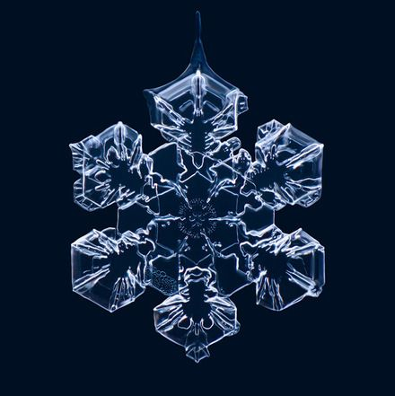 Photographs of Snowflakes. Matthias Lenke.