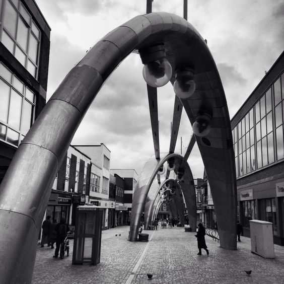 Underneath the Arches in Blackpool.