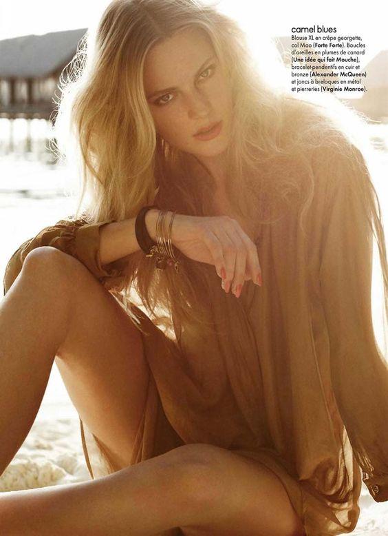 Ieva Laguna | Elle France May 2011
