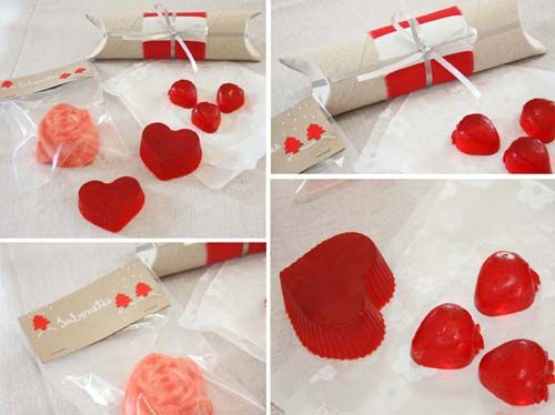 Homemade soap diy: you can buy glycerin, mix food coloring and make your own soap. Add a lovely wrapping and that´s it: you have a great gift! (by Cristiana Resina)
