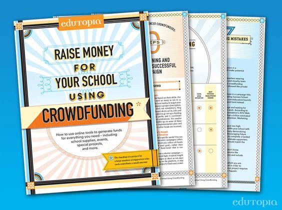 raise money for projects Raise money with crowdfunding: top 9 tips for schools with crowdfunding, individuals and organizations raise money for projects by collecting relatively small.
