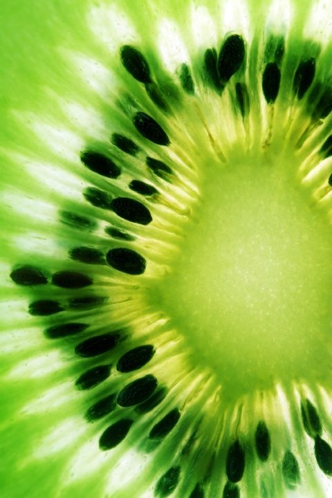 A good reason to eat kiwi: KIWI fruit helps your digestions with enzymes, it contains actinidain, a protein-dissolving enzyme that can help digest a meal much like the papain in papaya or bromelain in pineapple. (Photo from P.S.- I made this...):