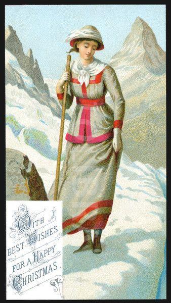 mountaineering Christmas card