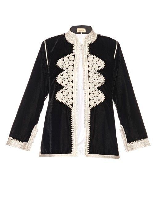 Muzungu Sisters Leila velvet jacket