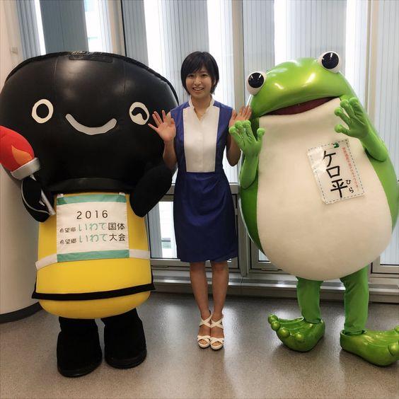 ゆるキャラと南沢奈央