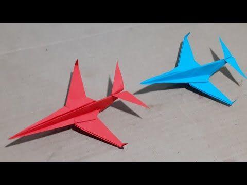 Mainan Dari Kertas Origami Airplane