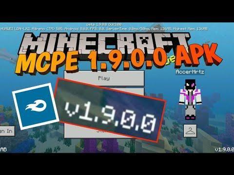 Minecraft Pe 1 9 0 0 Apk Download Minecraft Pe Minecraft Top Videos