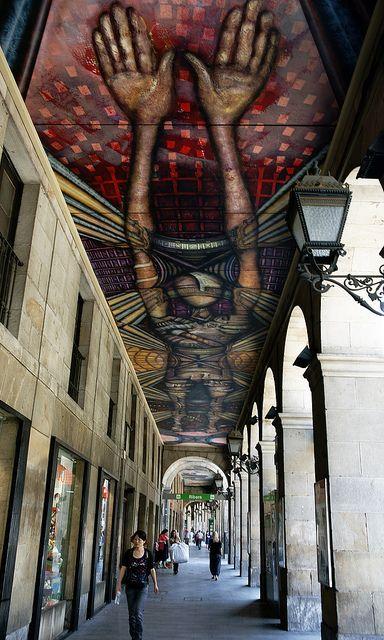 In Bilbao.: