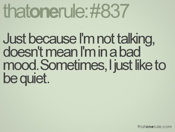 I wish some people would understand this about me.