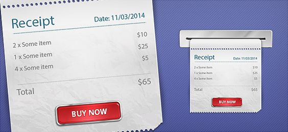 Free PSD Receipt Graphics Photoshop Freebies Pinterest Graphics - create receipts free