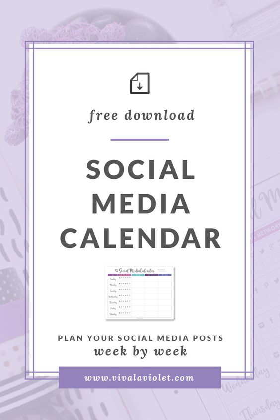 Savvy Boss Blog Social Media Content Planner Printable Binder