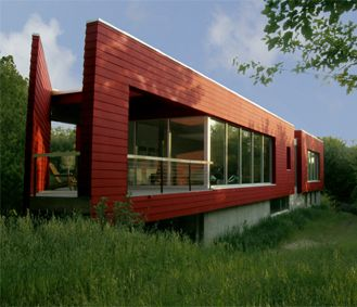 Randy Brown Architects LLC  LOT 10 > CRABAPPLE, Hidden Creek :: Omaha's modern eco-friendly home