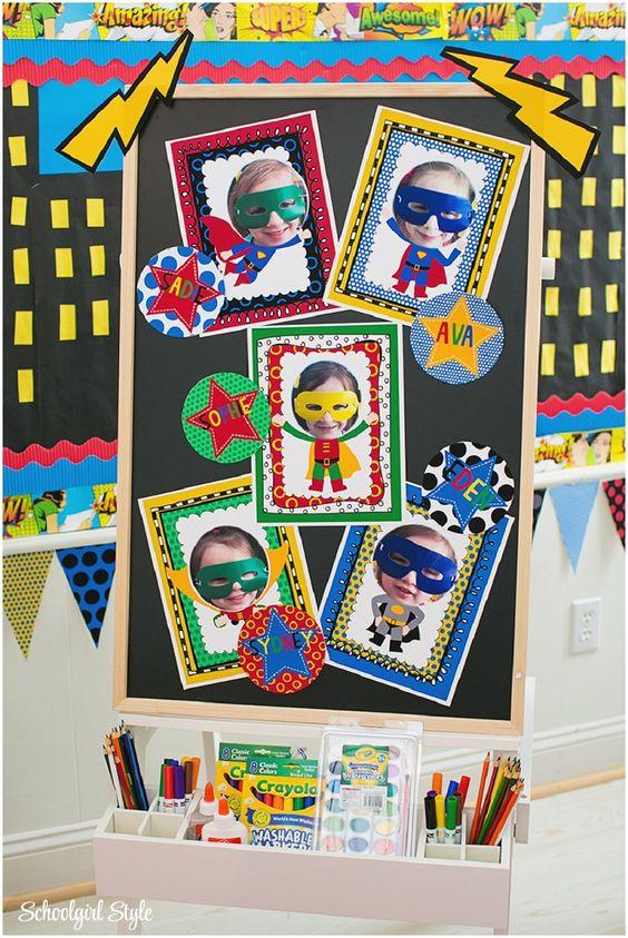 Classroom Ideas Superheroes : Some cute ideas for a super hero theme