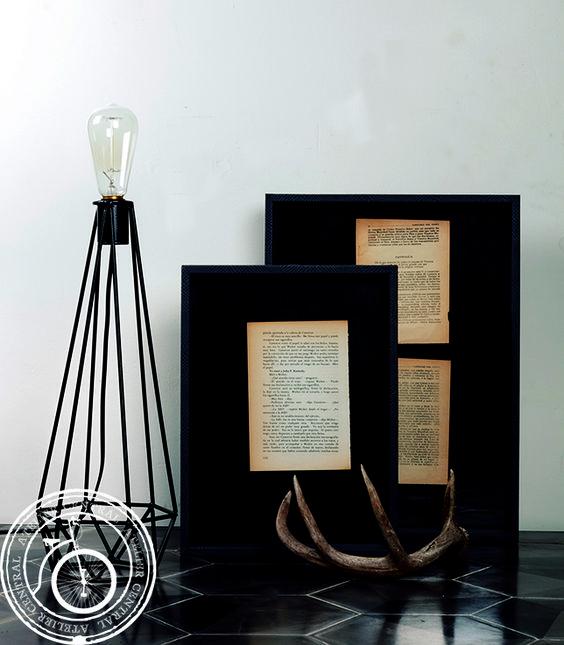 Decora tu espacio con las lámparas de Atelier Central, visita nuestra tienda online www.ateliercentral.com.mx #lamparas #descuentos #decoracion #home #interior #diseño