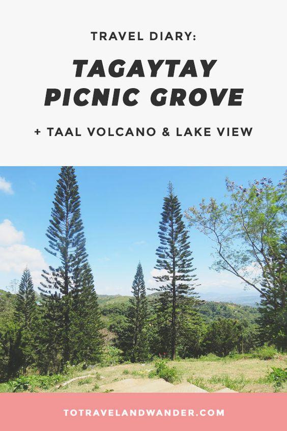 Tagaytay Picnic Grove Taal Volcano Taal Lake