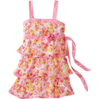 Amy Byer Girls 2-6x Sleeveless Tiered Dress $30.80