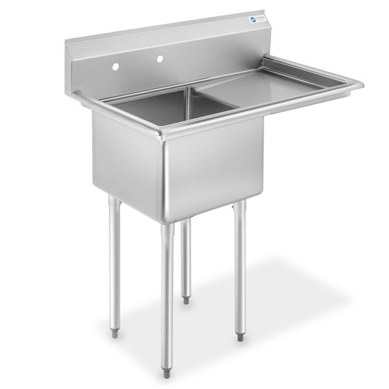 Industrial Scientific In 2020 Single Bowl Kitchen Sink Kitchen Sink Units Free Standing Kitchen Sink