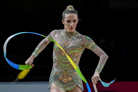 Natalia Gaudio (gymnastique rythmique, Brésil) : JO 2016 : les plus belles et…