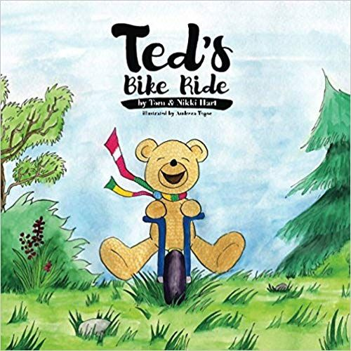 Ted S Bike Ride A Fun Rhyming Children S Picture Book For Ages 2