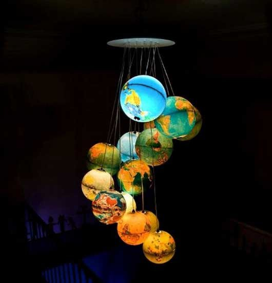 Perfect Do This With Clear Xmas Balls! Whimsical World Of Laura Bird: Beautiful  Chandelier By Benoit Vieubled | Clever Crafts | Pinterest | Globe,  Chandeliers And ...