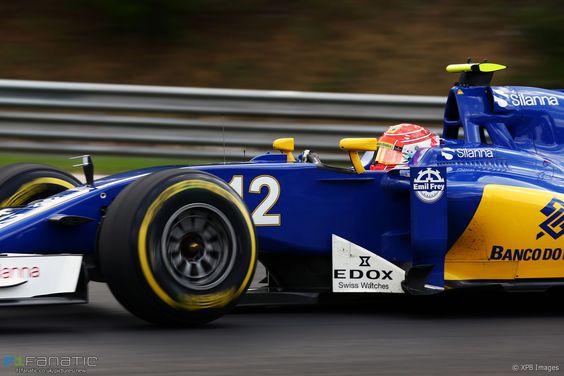 Felipe Nasr, Sauber, Hungaroring, 2016