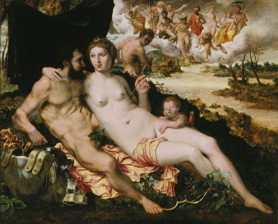 Venus en Mars - Frans Floris