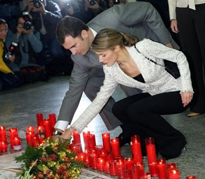 May 11th, 2004 - Tribute to the March 11th victims at the Atocha Station
