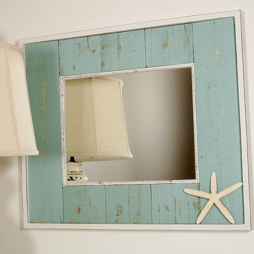 Pinterest the world s catalog of ideas - Beach themed bathroom mirrors ...