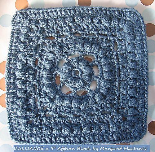 """Dalliance9"""" granny square pattern"""