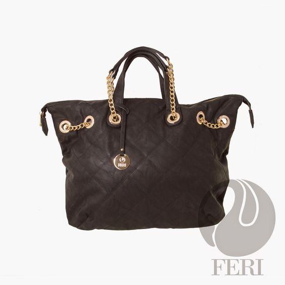 FERI Designer Products: FERI Designer Oversized Faux leather purse
