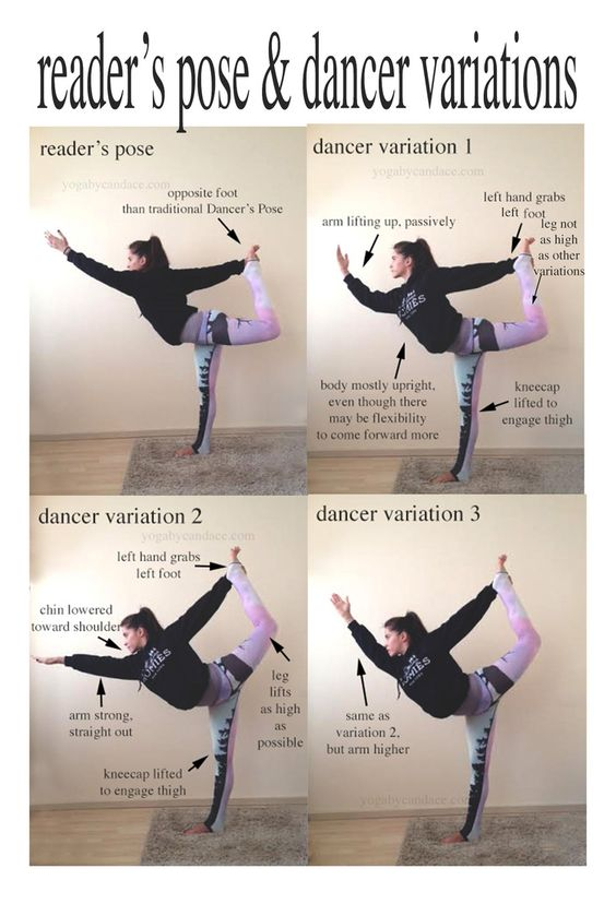 Dancer Pose Yoga Sequence : dancer, sequence, Dance