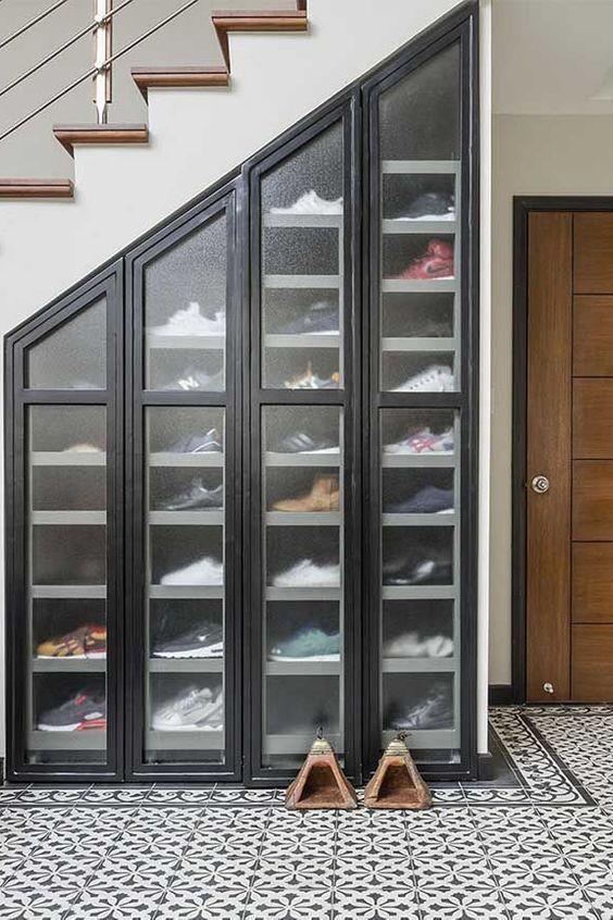 Home Shoe Storage Furniture Shelf Room Door Footwear Building