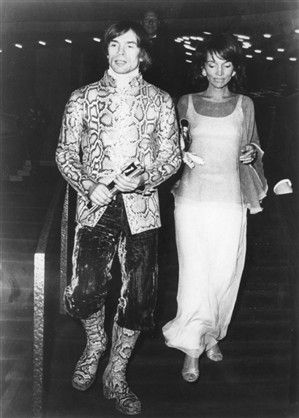 Lee Radziwill and Rudolf Nureyev