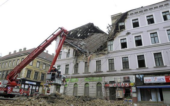 Explosion in Wien-Fünfhaus April 2014 :-O