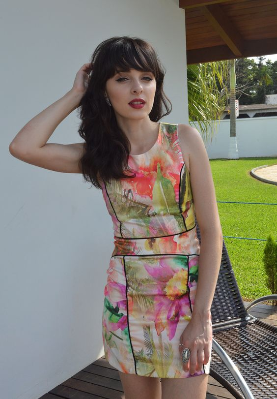 Look vestido floral - Blog Ela Inspira / http://bit.ly/1NCLKFK