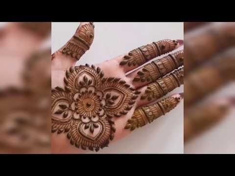Henna Henna Design مهندي نقش الخطفة تعليم النقش بالحناء رسومات حنة سهلة وبسيطة Youtube Henna Designs Hand Henna Henna Hand Tattoo