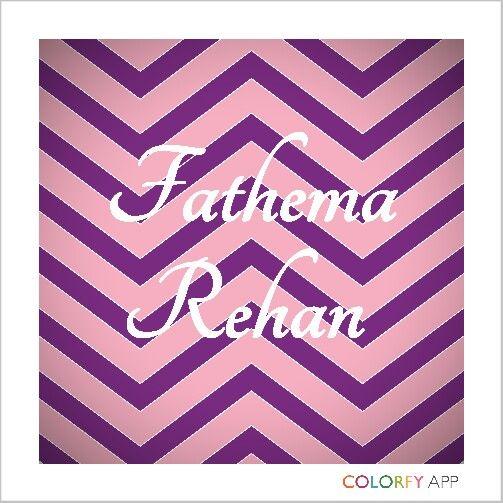 Fathema Rehan
