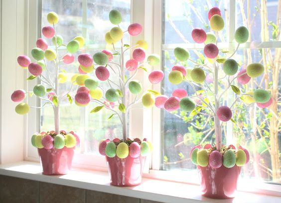 Crafty Sisters: Target Dollar Egg Tree